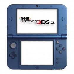 CONSOLA NINTENDO 3DS XL NUEVA AZUL METAL