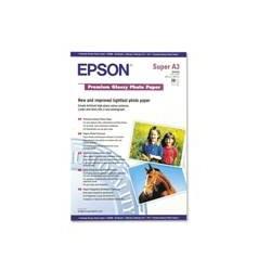 PAPEL EPSON S041316 PREMIUN GLOSSY PHOTO A3+ 20 HOJAS 250g